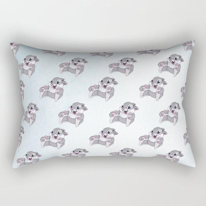 Disney's Thumper on Ice Rectangular Pillow