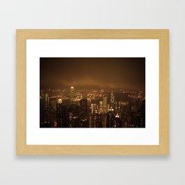 Victoria Peak Framed Art Print