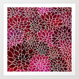 Floral Abstract 2 Art Print