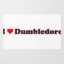 I heart Dumbledore Rug