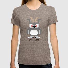 8 Bit Jackalope T-shirt