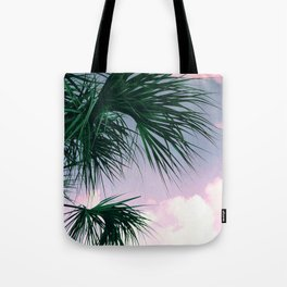 Sunset Palms jungalo tropical Tote Bag