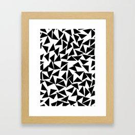 Three Corners Framed Art Print