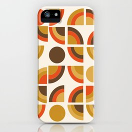Kosher - retro throwback minimalist 70s abstract 1970s style trend iPhone Case