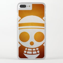 Pirates Logo Clear iPhone Case