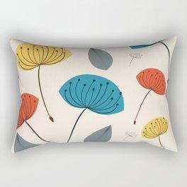Dandelions in the wind Rectangular Pillow