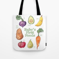 Baby's First Foods Tote Bag