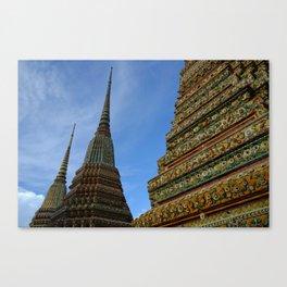 Temple Tops Canvas Print