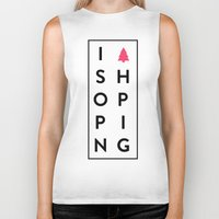 shopping Biker Tanks featuring shopping by Peter Roquemore