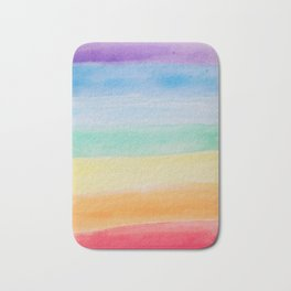 Chakra Watercolor Bath Mat