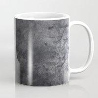 concrete Mugs featuring CONCRETE by Danielle Fedorshik