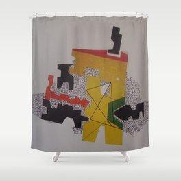 LA PEREGRINACION Shower Curtain