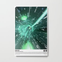 Daydreams Like Mainframes 001: Interface Ethernet Zero Metal Print