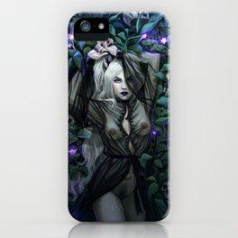 Deadly Nightshade iPhone Case
