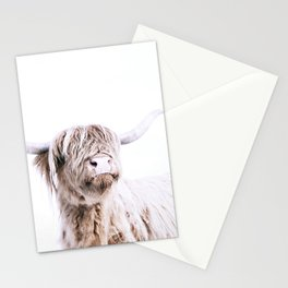 HIGHLAND CATTLE PORTRAIT Stationery Cards