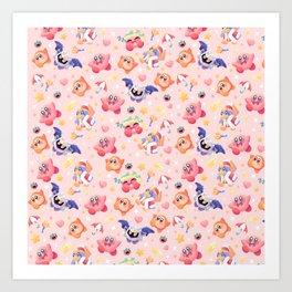 Kirby paradise Art Print