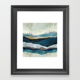 Turquoise Hills Framed Art Print