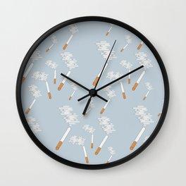 flat pattern cigarettes Wall Clock