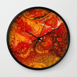 Lava Flow Wall Clock