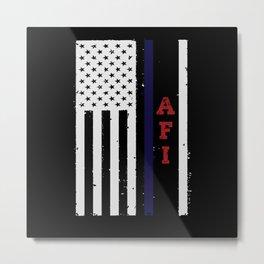 AFI USA Flag Patriotic Metal Print