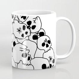 Zombies Skulls Coffee Mug
