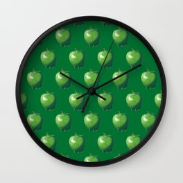 Green Apple_B Wall Clock