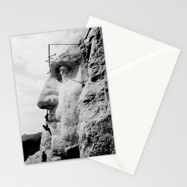 Mount Rushmore Construction Photo Stationery Cards