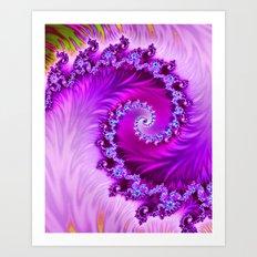 Wave Roll Art Print