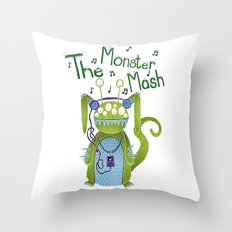 The Monster Mash Throw Pillow