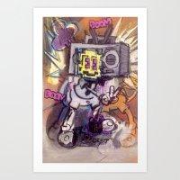 BOOMBOOMPOW Art Print