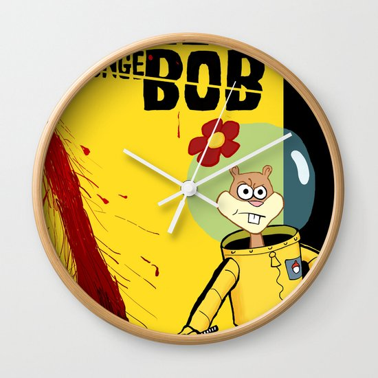 Kill Spongebob Wall Clock