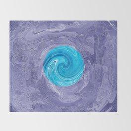 Abstract Mandala 286 Throw Blanket