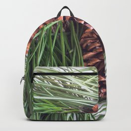 Pinecone and needles Backpack