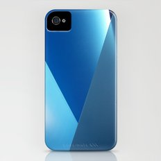 blue light Slim Case iPhone (4, 4s)
