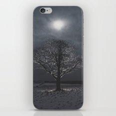 Snow Moon iPhone & iPod Skin