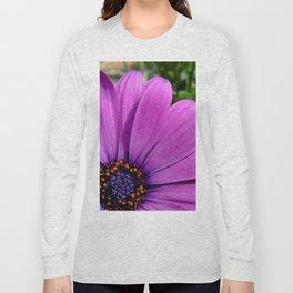 Purple Osteospermum Long Sleeve T-shirt