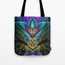 Transcendental - Fractal Manipulation Tote Bag