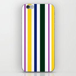 Stripes in colour 1 iPhone Skin