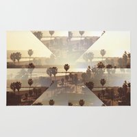 venice Area & Throw Rugs featuring Venice by Trees Without Branches
