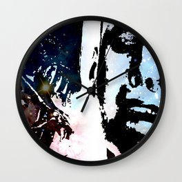 SIGOURNEY WEAVER, AN ALIEN & COSMOS Wall Clock