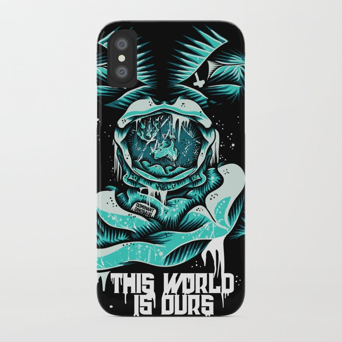 This World is ours iPhone Case