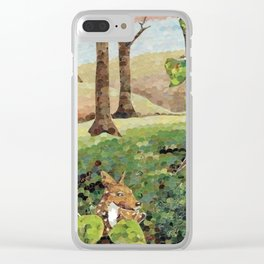 Safe Place Clear iPhone Case