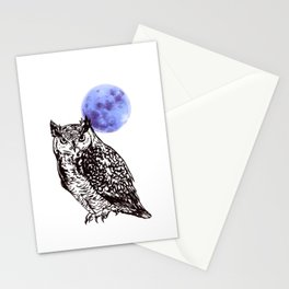 A Hoot Stationery Cards