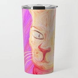 Aristocrat Cat  Travel Mug