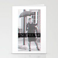 jessica lange Stationery Cards featuring Jessica Lange Fiona Goode Supreme by NameGame