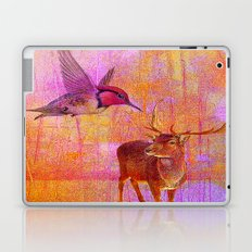 The loves platonic of the hummingbird and the deer Laptop & iPad Skin