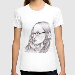 Ingrid Michaelson Drawing T-shirt
