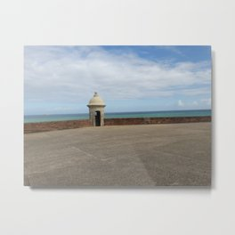 View from the Fort - Old San Juan, Puerto Rico Metal Print