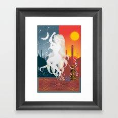 Opio Framed Art Print