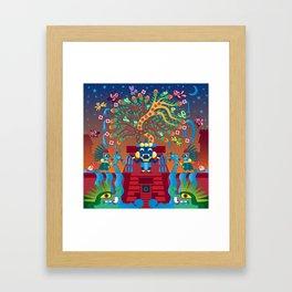 Tlalocan Framed Art Print